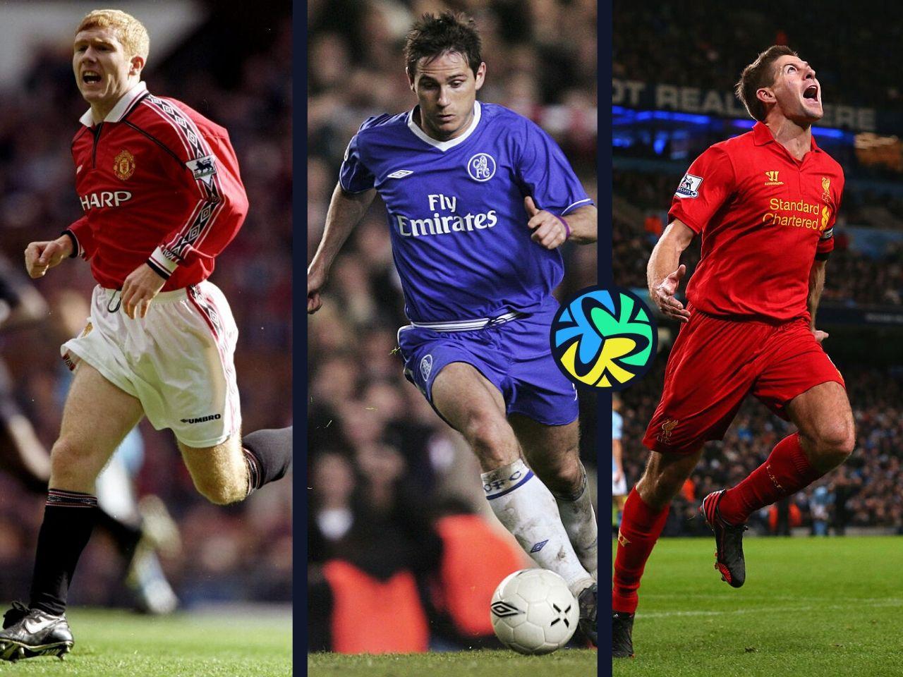 Scholes, Lampard, Gerrard