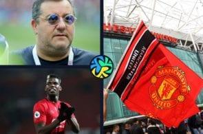 MIno Raiola, Paul Pogba, Manchester United