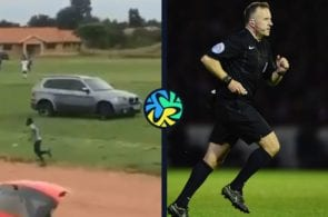 referee car attack