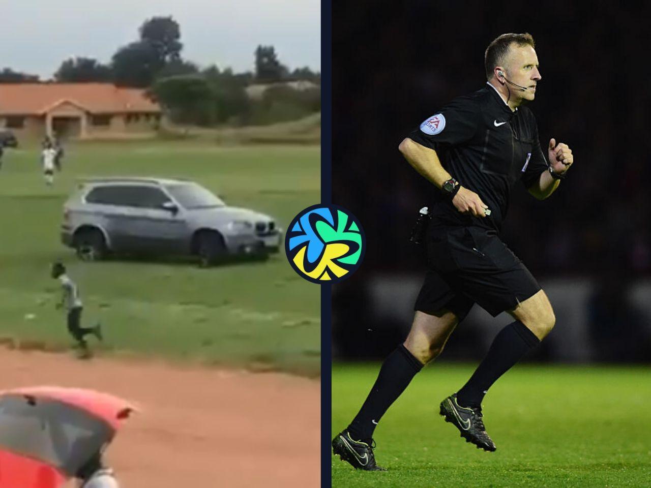 referee car attack