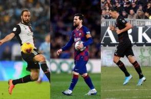 Top 5, footballers