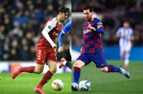 Trincao, Lionel Messi, FC Barcelona
