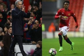 Mourinho, Boufi, manchester United