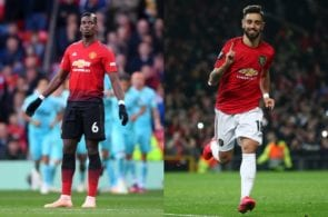 Pogba, Fernandes, Manchester United