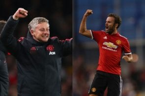 Solskjaer, Mata, Manchester United