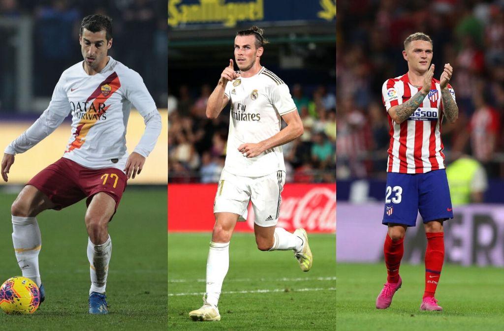 mkhitaryan, Bale, Trippier
