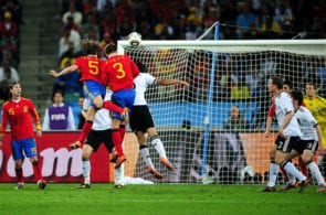 Spain vs Germany 2010