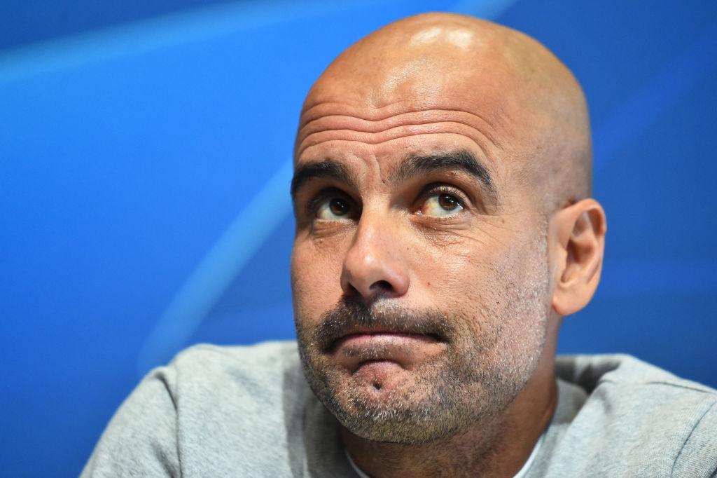 Pep Guardiola., Manchester City