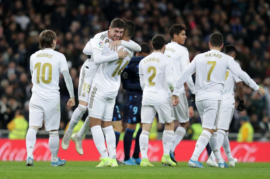 Real Madrid, midfield