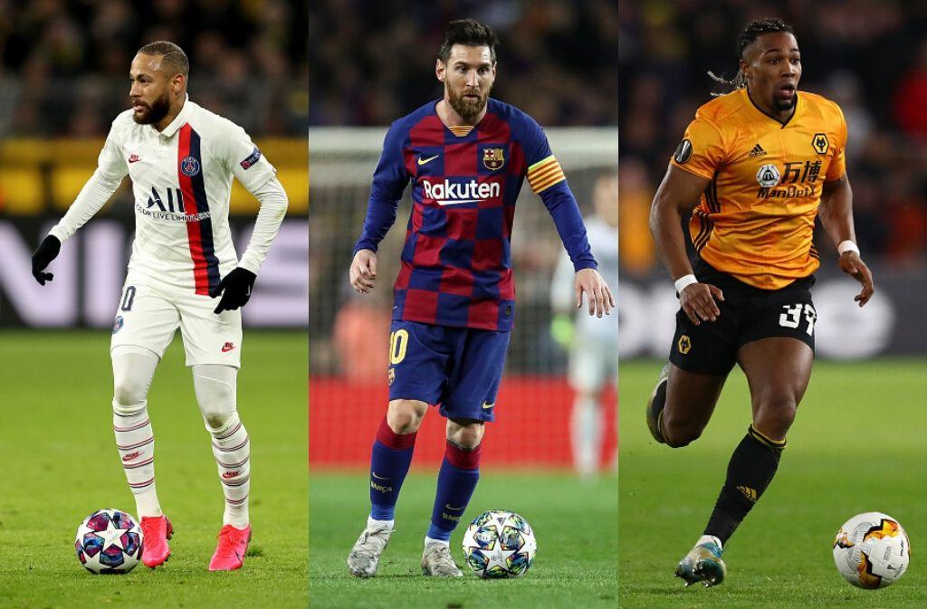 Top 5 best dribblers in Europe this season