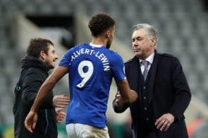 Dominic Calvert-Lewin, Carlo Ancelotti, Everton