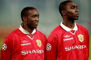 Cole, Yorke, Manchester United