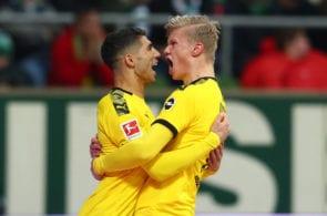 Erling Haaland, Achraf Hakimi, Borussia Dortmund