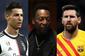The 100 greatest players of all-time revealed by fans
