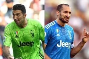 Gianluigi Buffon, Giorgio Chiellini, Juventus