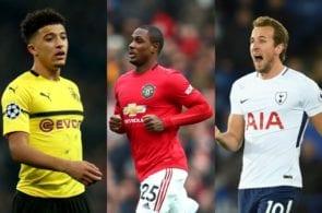 Sancho, Ighalo, Kane. Manchester United