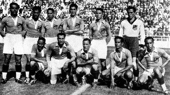 Egyptian national football team of Africa at the 1934 World Cup