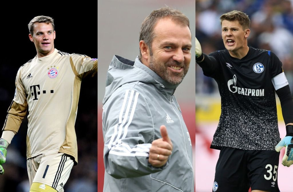 Neuer, Nubel, Flick, Bayern Munich
