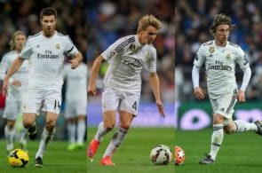 Alonso, Odegaard, Modric, Real Madrid