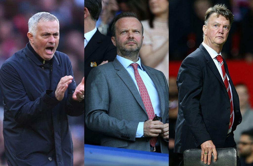 Van Gaal, Mourinho, Woodward