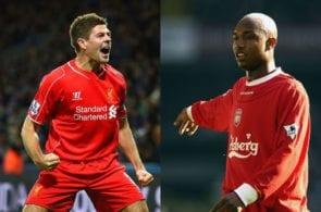 Gerrard, Diouf, Liverpool