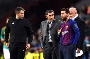 Messi, Valverde, Barcelona