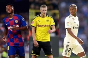 The 12 best young players under the age of 20