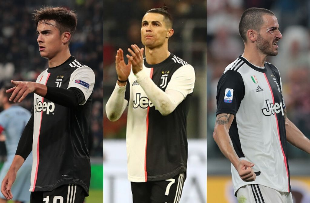 Top 5 best Juventus players for this season