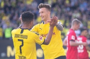 Jadon Sancho, Marco Reus, Borussia Dortmund
