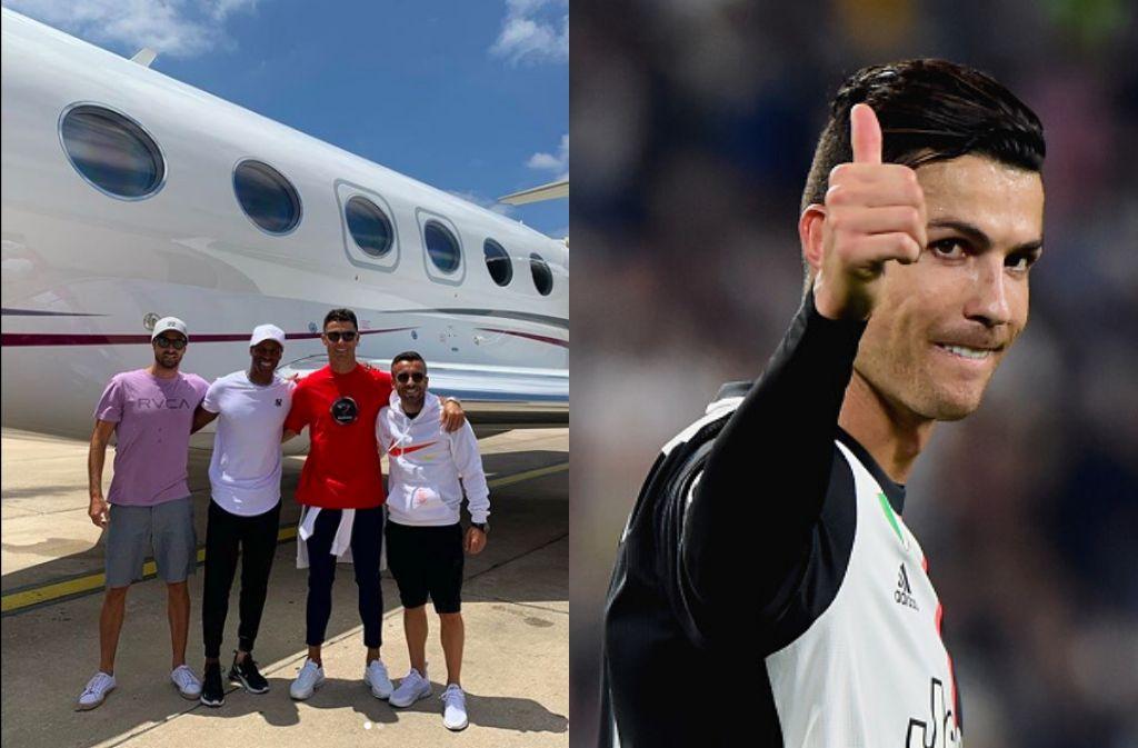 Check out Cristiano Ronaldo's private jet, the Gulfstream G650
