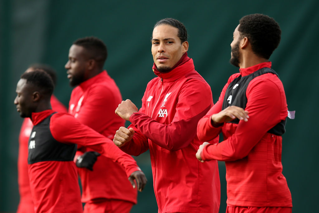 Virgil van Dijk, Joe Gomez, Liverpool