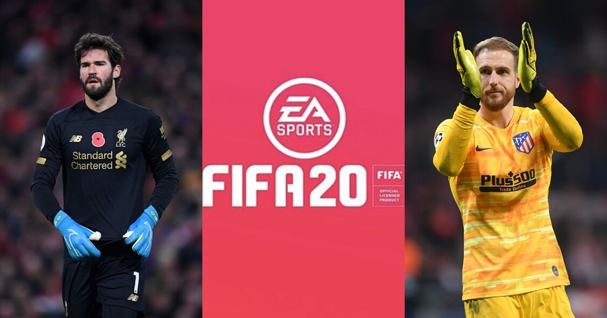 fifa 20 best goalkeepers