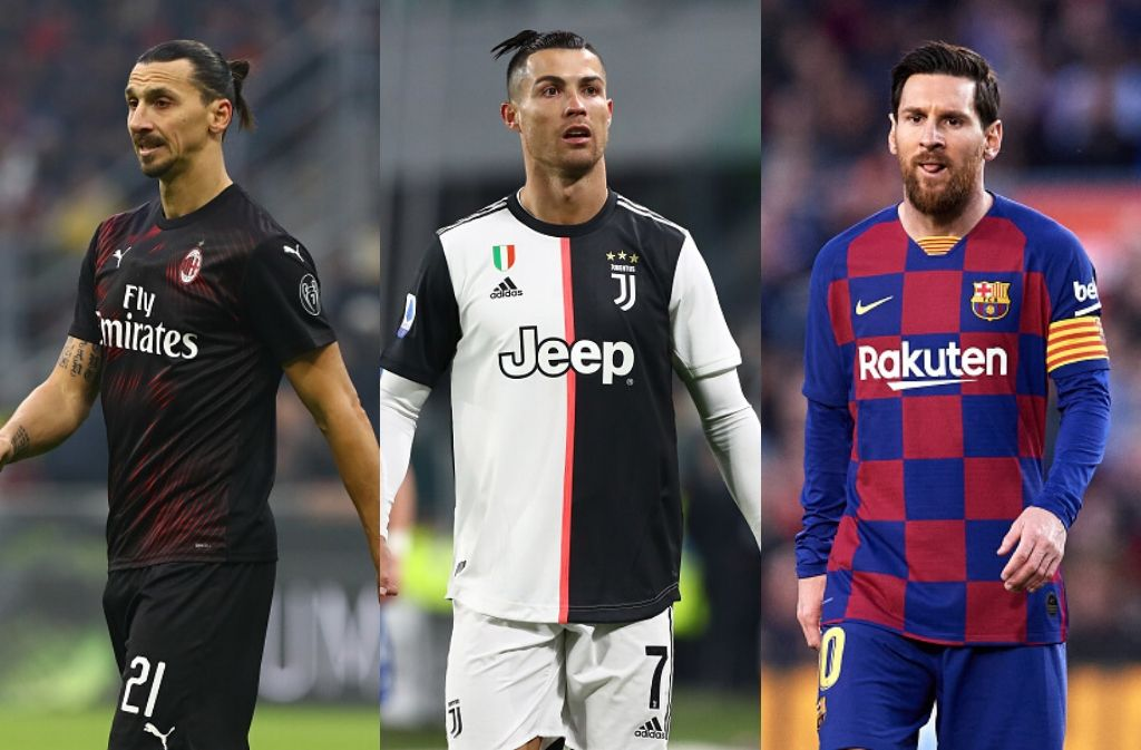 Top 10: Best footballers over the age of 30