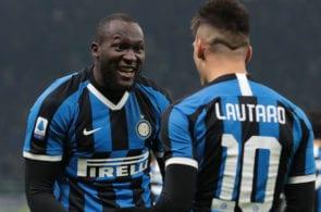 Romelu Lukaku, Lautaro Martinez, Inter Milan