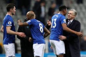 Ancelotti, Mina, Everton
