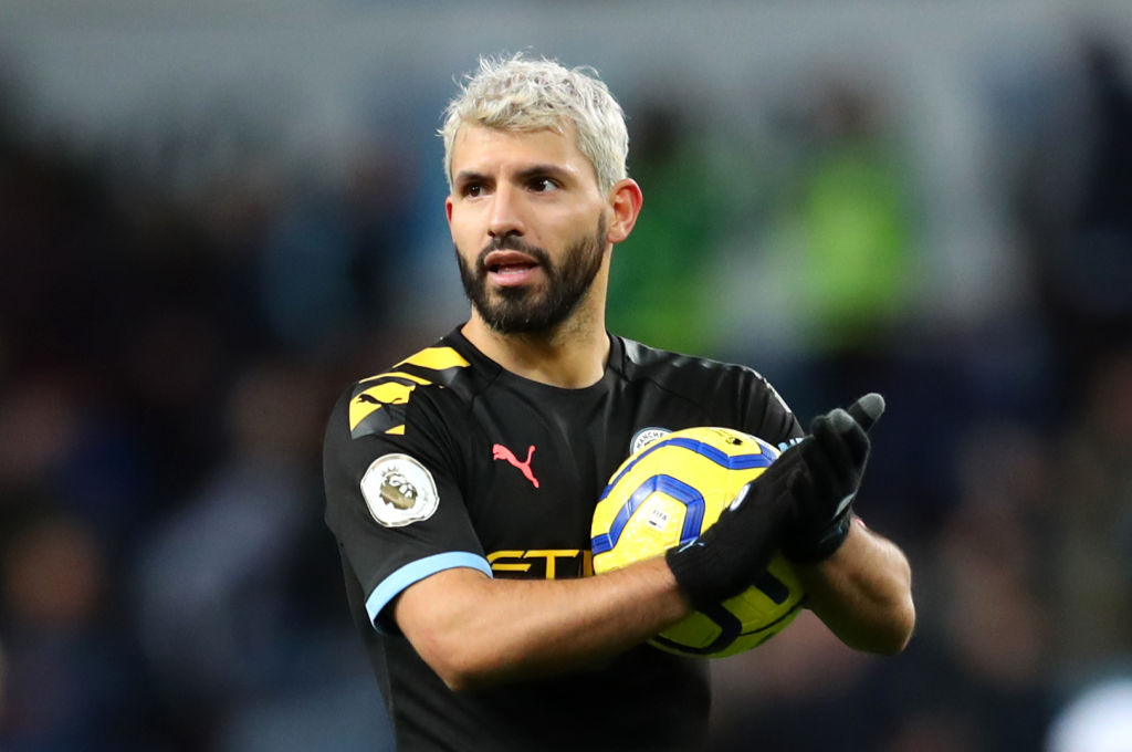 Sergio Aguero gives update on his Manchester City future ...