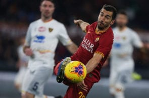 Henrikh Mkhitaryan, AS Roma