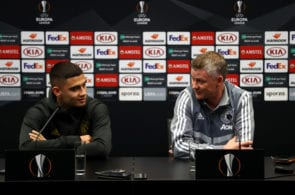 Ole Gunnar Solskjaer, Andreas Pereira, Manchester United