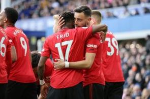 Fred, Bruno Fernandes, Manchester United