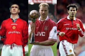 Top 5 greatest Premier League players of the 90s