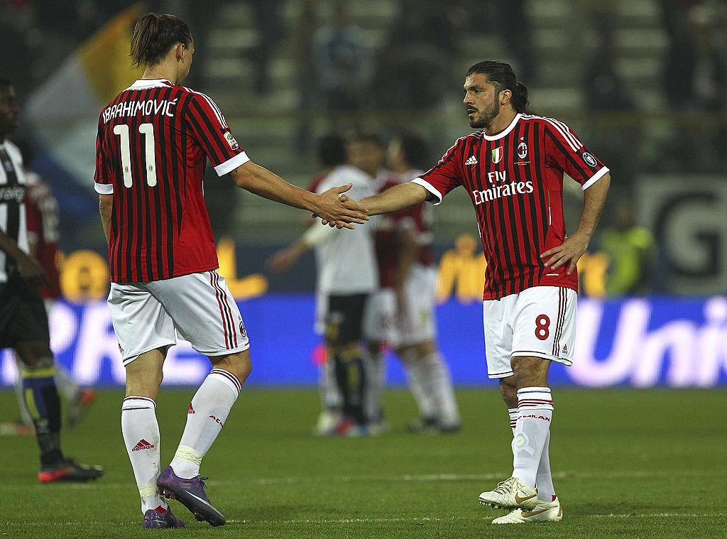 Ibrahimovic, Gattuso
