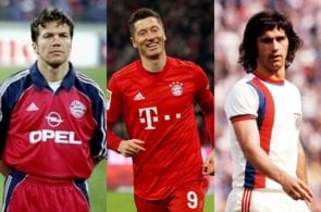 Top 10 best Bundesliga players of all-time