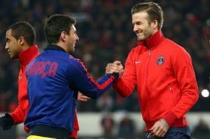 Messi, Beckham