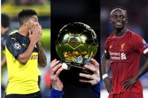 Top 5 dark horses to win the 2020 Ballon d'Or award