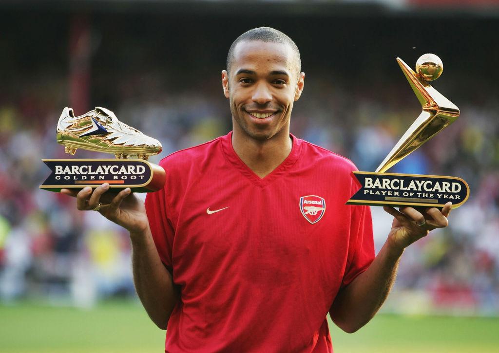 Golden Boot, Premier League, Thierry Henry