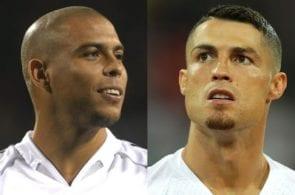 Ronaldo Nazario, Cristiano Ronaldo