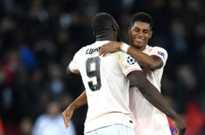 Romelu Lukaku, Marcus Rashford, Paris Saint-Germain vs Manchester United