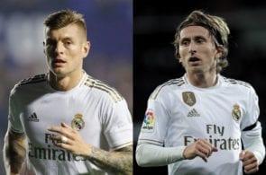 Toni Kroos, Luka Modric, Real Madrid