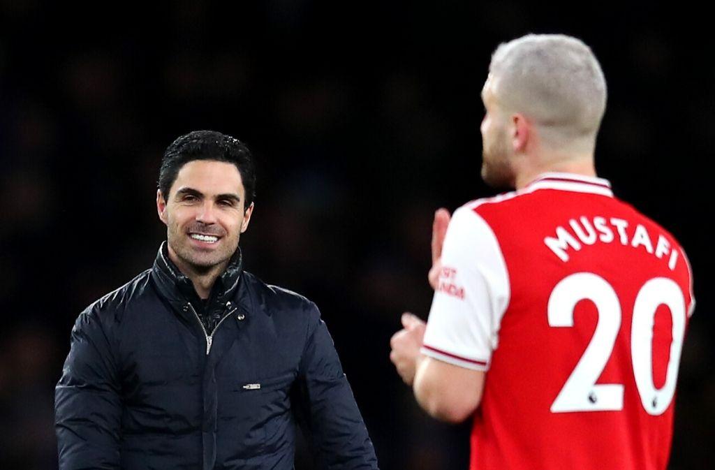Mikel Arteta, Shkodran Mustafi, Arsenal
