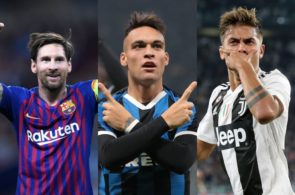 Martinez, Messi, Dybala